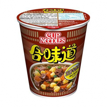 Zupa Nissin Cup Noodles - wołowina