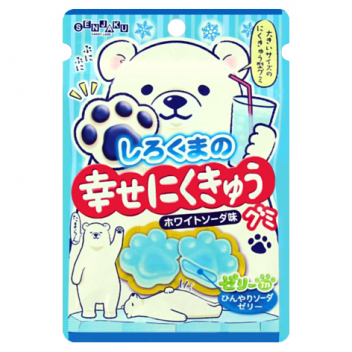 Żelki Happy Nikukyu Polar Bear Soda Senjaku
