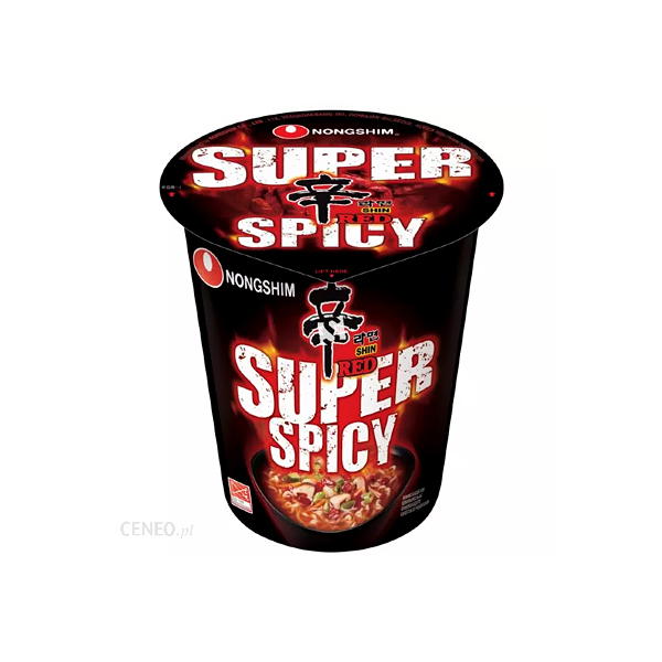Zupa Super Spicy Shin Red Cup Nongshim